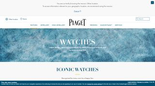 Piaget Watches Iran
